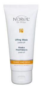 NOREL Pearls and Gold (Perły i Złoto)  Maska napinająca peel - off 125 ml