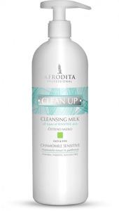 AFRODITA clean up Mleczko oczyszczające CHAMOMILE SENSITIVE  500 ml