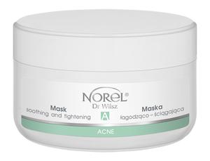 Norel Acne Maska łagodząco-ściągająca 200 ml (po oczyszczaniu)
