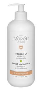 PROMO NOREL Body Massage  Olejek do masażu drenujący, antycellulitowy  Ref. PB 154 500 ml