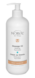 NOREL Body Massage  Olejek do masażu relaksujący, Ayurweda  Ref. PB 153 500 ml