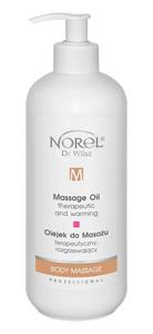 PROMO NOREL Body Massage  Olejek do masażu terapeutyczny, rozgrzewający  Ref. PB 152 500 ml