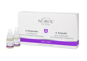 norel ant-age Zestaw 4 ampułek do sonoforezy PA 099