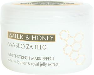 Kozmetika Afrodita Masło do ciała z miodem i mlekiem na wykończenie zabiegu 250 ml