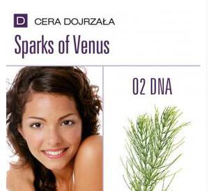 Charmine Rose Zestaw SPARKS OF VENUS O2 DNA , 1kp= 5 zabiegów