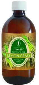 Kozmetika Afrodita Trawa cytrynowa - naturalny olejek do masażu 500 ml