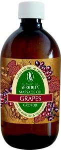 Kozmetika Afrodita Winogronowy olejek do masażu 500 ml