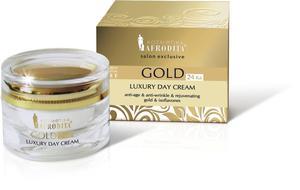 Kozmetika Afrodita Gold 24 Luksusowy krem na dzień 50 ml