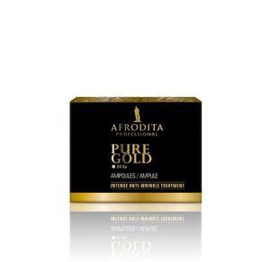 Kozmetika Afrodita Gold 24 Luksusowe ampułki 5 x1,5 ml