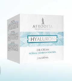 Kozmetika Afrodita HYALURON Krem 24h dla skóry normalnej i mieszanej 50 ml