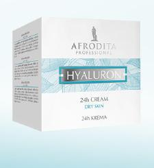 Kozmetika Afrodita  HYALURON Krem 24h dla skóry suchej, atopowej 50 ml
