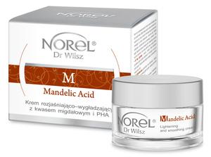 Norel Mandelic Acid Krem rozjaśniająco-wygładzający z kwasem migdałowym i PHA 50 ml