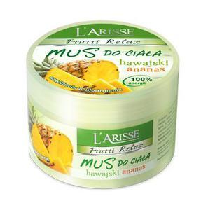 L'ARISSE Mus do ciała – hawajski ananas /nawilżenie & ujędrnienie/, 250 g