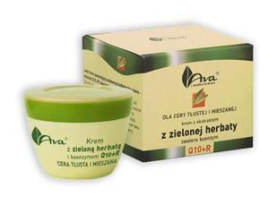 AVA - Zielona herbata Krem dla cery tłustej i mieszanej 50 ml