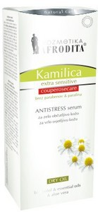 Kozmetika Afrodita Camomile - Serum Antistress Cuperose Care suchy olejek 30 ml