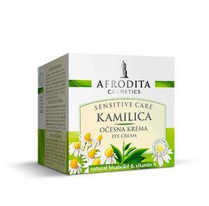 Kozmetika Afrodita Camomile -Krem przeciw zmarszczkom i cieniom pod oczami 15 ml