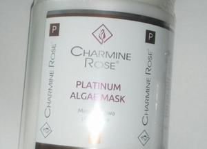 Charmine Rose PLATYNOWA  maska algowa 750ml/252g (Liofilizat papai)