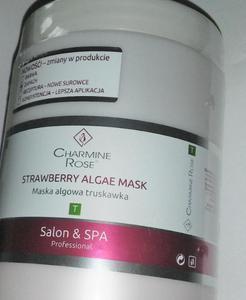 Charmine Rose TRUSKAWKA maska algowa 750ml/252g Oczyszczająca i rozjaśniająca