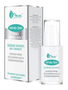 AVA White Skin Serum - Maska do twarzy rozjaśniająca przebarwienia 30 ml