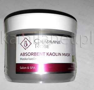 Charmine Rose Mineralna MASKA KAOLINOWA łagodząca i lekko wybielająca, do cery tłustej i problematycznej 200 ml