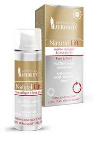 Kozmetika Afrodita NATURAL LIFT Przeciwzmarszczkowe serum nawilżające