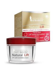 Kozmetika Afrodita NATURAL LIFT Krem Liftingujący dla skóry suchej 50 ml