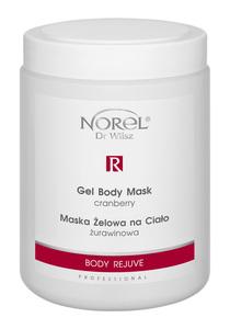 Norel Body Rejuve  Maska żelowa na ciało żurawinowa  Ref. PN 179 1000 ml