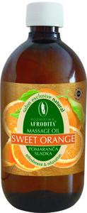 Kozmetika Afrodita Słodka Pomarańcza - naturalny olejek do masażu 500 ml