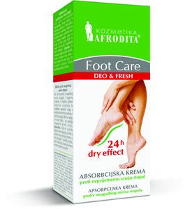 Kozmetika Afrodita FOOT CARE  Balsam do stóp przeciw nadmiernej potliwości 50 ml