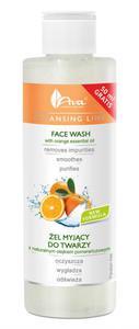 AVA Cleansing Line ŻEL MYJĄCY DO TWARZY z naturalnym olejkiem pomarańczowym  200 ml
