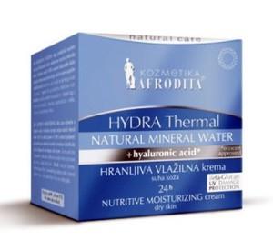 Afrodita HYDRA THERMAL Odżywczo - nawilżający krem 24h dla skóry suchej