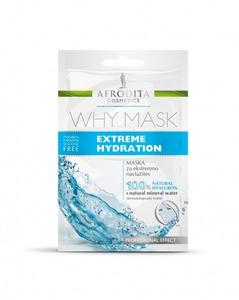 Afrodita WHY MASK Extreme Hydration - Nawilżająca maseczka do twarzy 2x6ml saszetka
