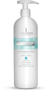 AFRODITA clean up HYALURON Mleczko oczyszczające 500 ml