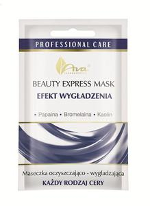 AVA BEAUTY EXPRESS MASK EFEKT WYGŁADZENIA Papaina + Bromelaina + Kaolin 7ml