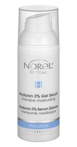 Norel HYALURON 3%  Serum żelowe intensywnie nawilżające  50 ml PROF PA 362