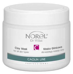 NOREL Maska glinkowa dla każdego rodzaju cery 290g pn215