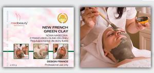 Franch Green Clay Maseczka z francuskiej glinki zielonej 200g
