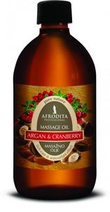 Kozmetika Afrodita Argan & Żurawina - olejek do masażu ciała 500 ml