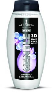 Afrodita MEN GENTLE  - Żel pod prysznic i szampon do włosów 250 ml