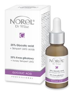 NOREL  Glycolic Acid  25% Kwas glikolowy + kwasy Skinperf LWG PP 119