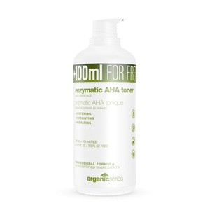 enzymatyczny tonik z kwasami AHA 500ml OrganicSeries