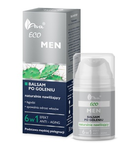 AVA ECO MEN Ekologiczny balsam po goleniu 6 w 1