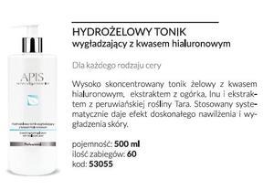 APIS Hydrożelowy tonik wygładzający z kwasem hialuronowym