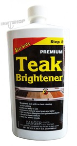 Krok 2 - Rozjaśniacz do teaku. Teak Brighter 950 ml. .