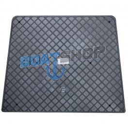 Ochraniacz Pawęży PCV Zewnętrzny Duży 450x360 Czarny