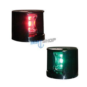 Lampa nawigacyjna czerwona + zielona LED komplet