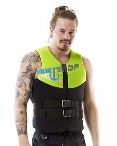 Kamizelka JOBE neoprene men lime green