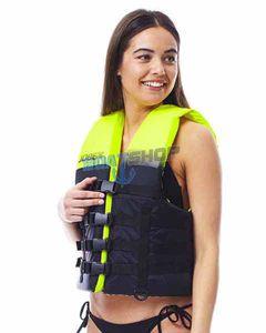 Kamizelka dual vest lime green - rozmiar 2XL/3XL
