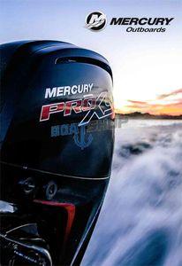 Katalog silników zaburtowych Mercury 2017