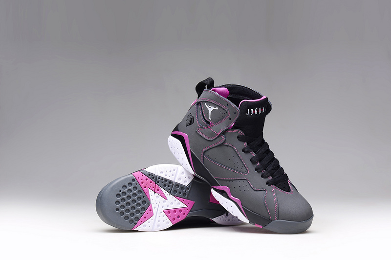 online retailer 43d8e aa697 ... fuchsia grey shoes official store buty damskie nike air jordan retro 7  valentines day 705417 016 ea0f1 108be ...